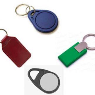 HF 13,56 MHz - kHz RFID nyckelbrickor - Keyfobs
