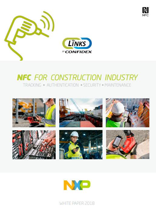 Confidex NFC för byggindustrin